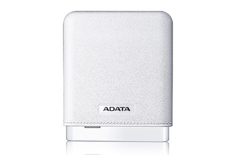 fuente alimentacion power bank portatil adata pv150 blanco