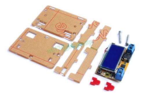fuente alimentación regulable dual dc-dc lcd arduino pic