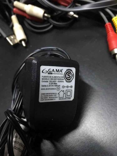 fuente alimentación transformador gama 2,2 volts