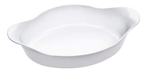 fuente asadera oval opaline marinex 600ml apto horno