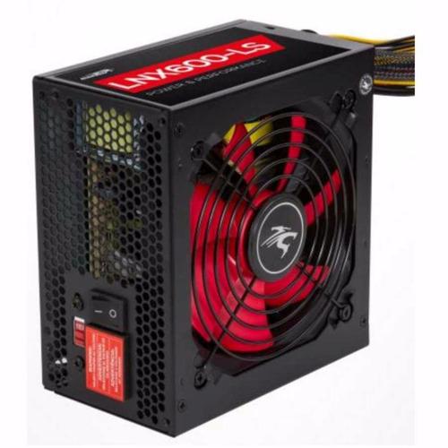 fuente atx pc gamer sentey lnx 600w 1x pci-e 6 pin fan 120mm