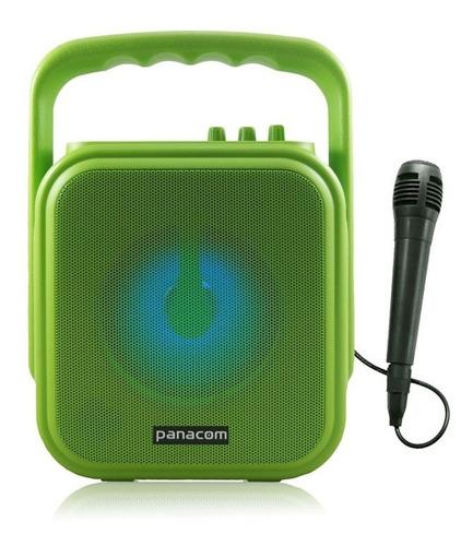 fuente cargador  bafle portatil panacom  sp-3048cm