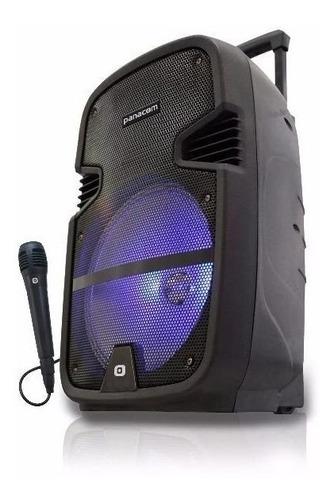fuente cargador  bafle portatil panacom  sp-3110