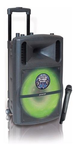 fuente cargador  bafle portatil panacom  sp-3155
