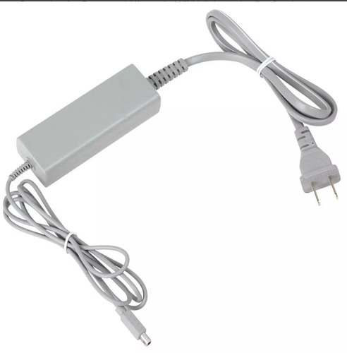 fuente cargador gamepad nintendo wii u adaptador corriente