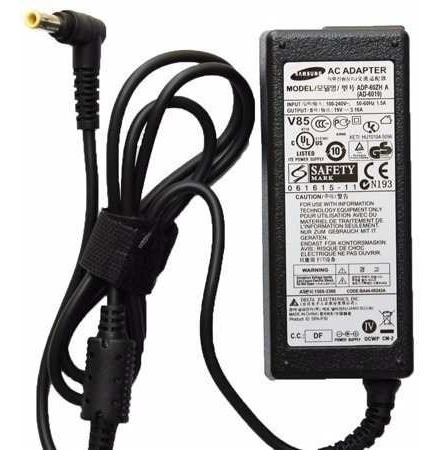 fuente cargador notebook samsung rv 511 19v 4.74 amp 90w