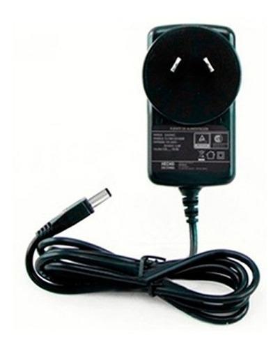 fuente cargador organo 9v dc 0.5a positivo centro plug 2.1