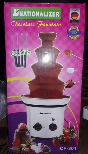 fuente cascada de chocolate 4 pisos x4u