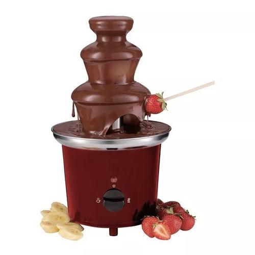 fuente chocolate 3 niveles 30cm universal royal