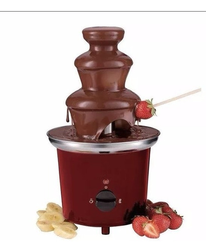 fuente chocolate 3 niveles 30cm universal royal original