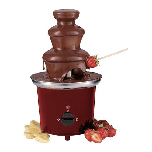 fuente chocolate 3 niveles 30cm universal royal original