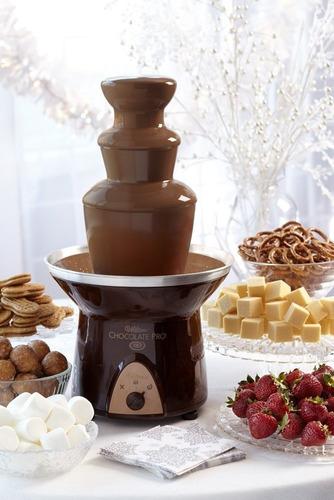fuente chocolate chocolate