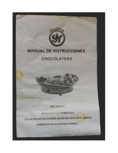 fuente chocolate. fondue