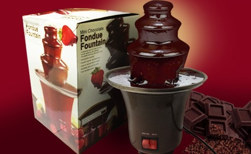 fuente chocolatera pileta chocolate eventos decoraciones
