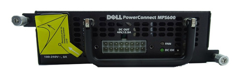 fuente conmutador switch red powerconnect mps600 a msi