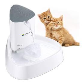 Fuente De Agua Automatica Led Bebedero Para Gato Y Perro