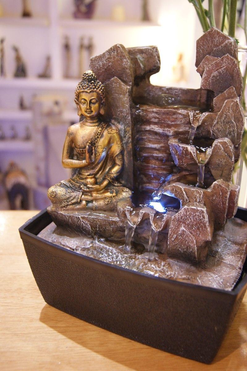 Fuente De Agua Buda Con Luz Blanca Caudal De Agua - $ 1.490,00 en ...