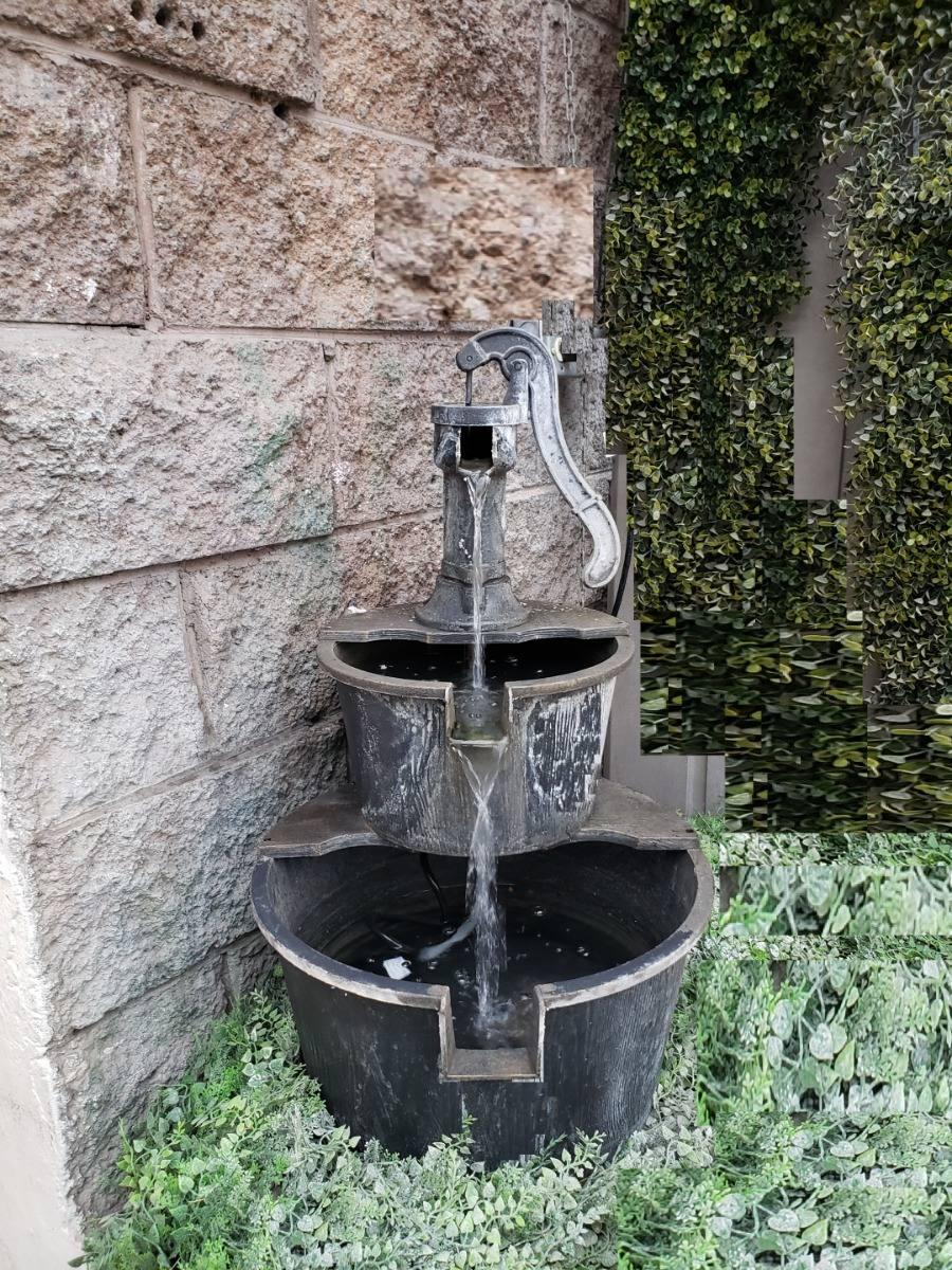 Fuente De Agua Diseno Antiguo 2 Urnas Bomba Envio 249700 En - Diseo-de-fuentes-de-agua