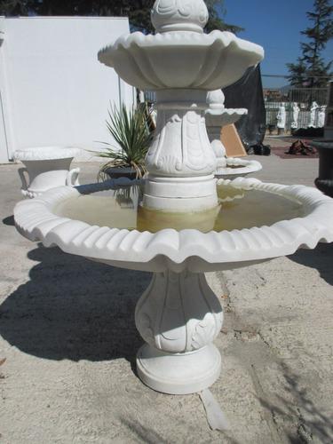 fuente de  agua en mármol (pila ) - 180 cms