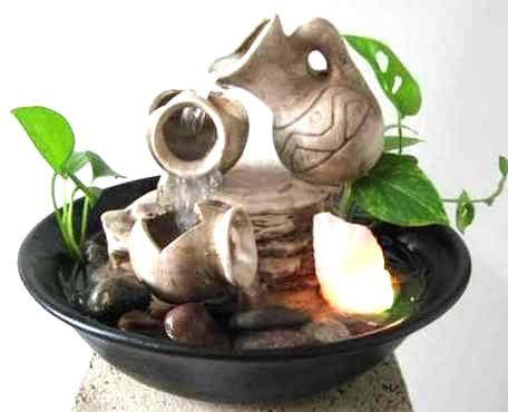 fuente de agua feng shui etnica  c/ *luz* rincondeluz2008