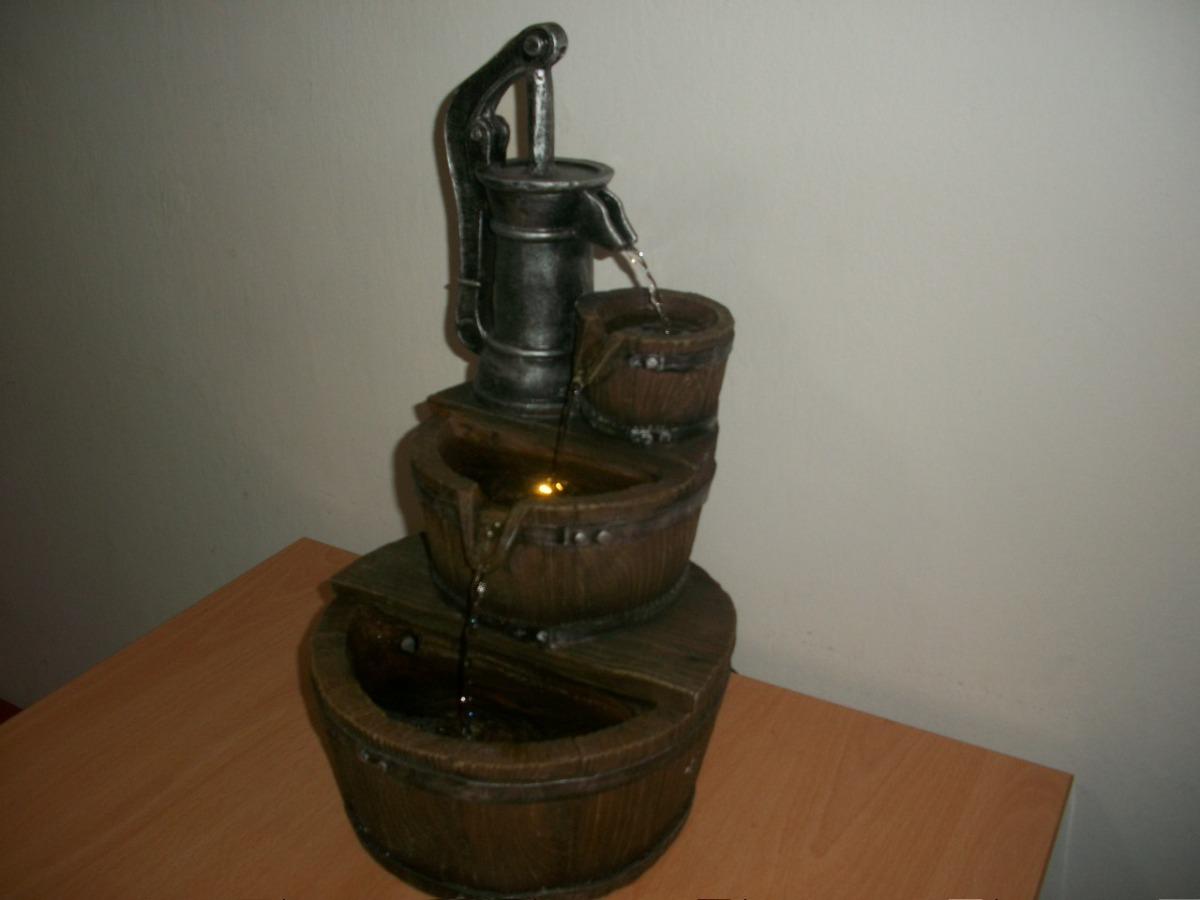 fuente de agua grande de interior c luz 42 cm - Fuentes De Agua Decorativas