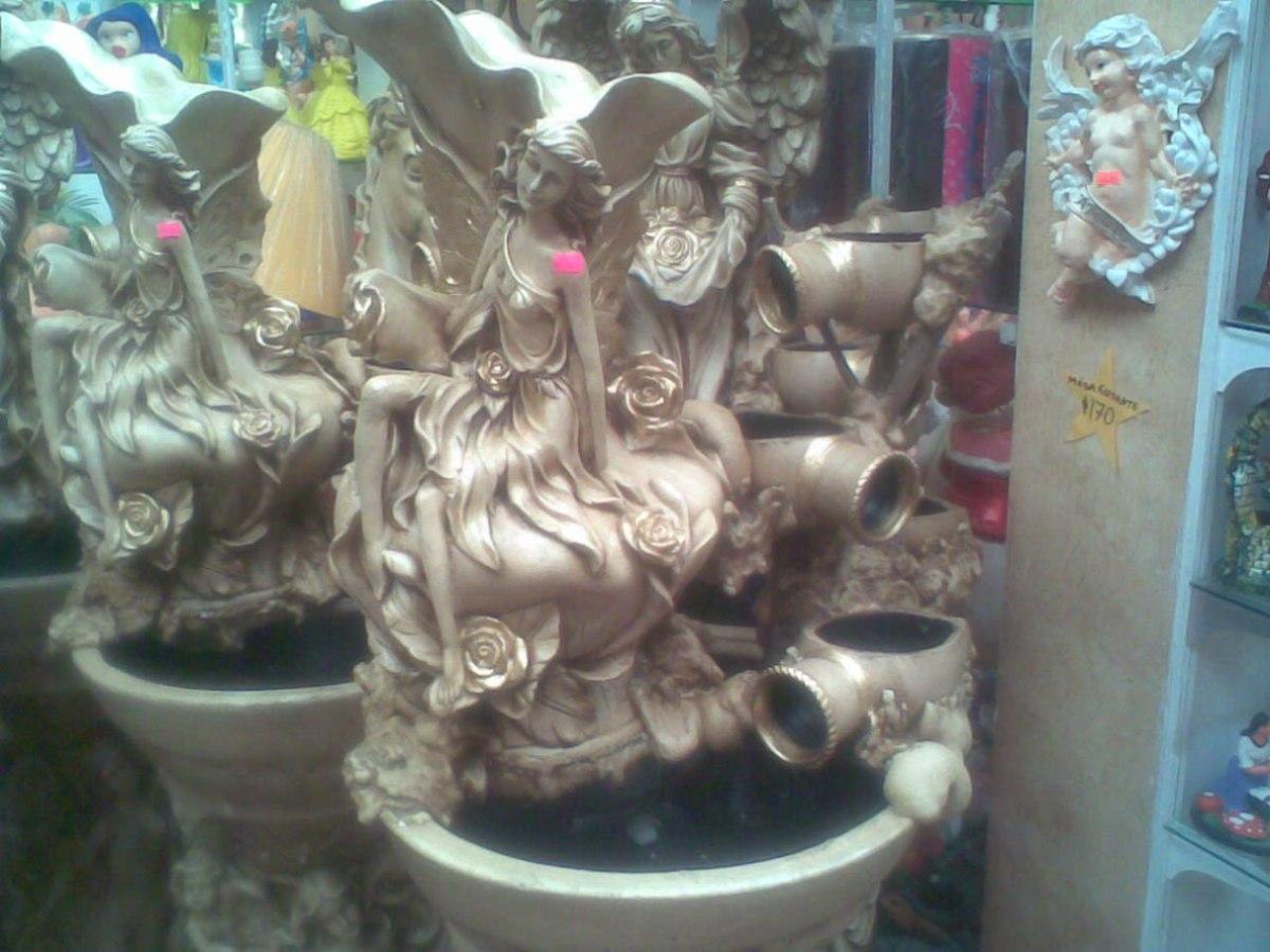 Fuente de agua para decoraci n artesanal jardin o sala for Bomba de agua para fuente de jardin