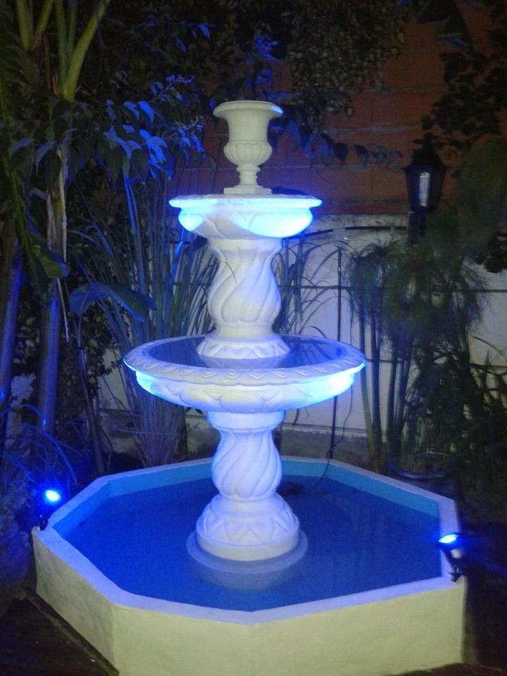 fuente de agua para jardin cemento reforzado mar del plata cargando zoom