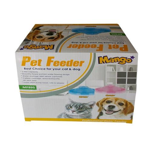 fuente de agua para perros y gatos / chimuelocl