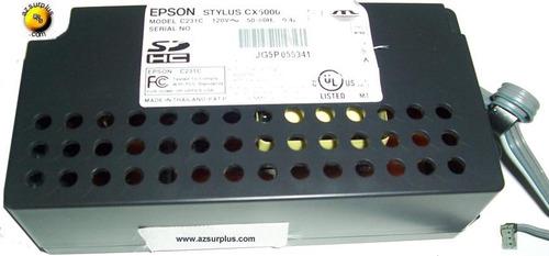 fuente de alimentac impresora epson eps-112  42vdc 120v 0.4a