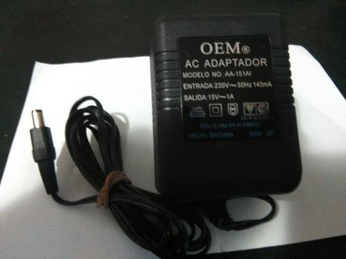 fuente de alimentación 15 volt 1 amper,envio