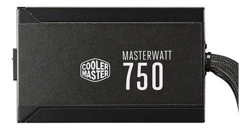fuente de alimentación cooler master masterwatt 750, 750w, a