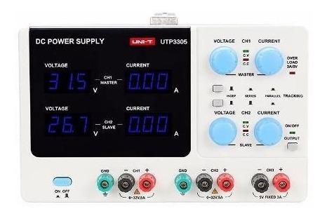 fuente de alimentación dc 0-32v 5a uni-t utp3305