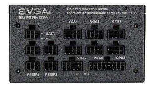fuente de alimentación evga supernova 650 g+ 650w, 80 plus g