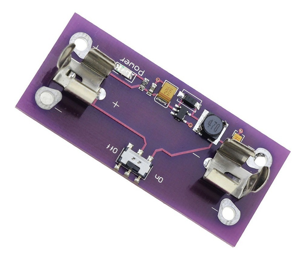 Alimentación Lilypad módulo alimentación de corriente 5v fuente de alimentación batería AAA