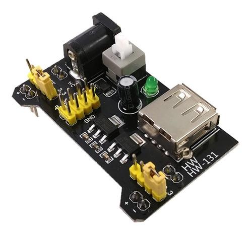 fuente de alimentación para protoboard mb-102 3.3v 5v