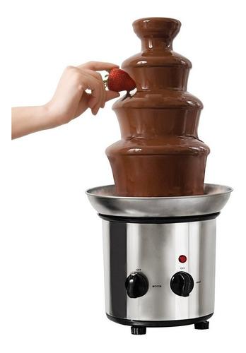 fuente de chocolate beacon hill 2 en 1 torre acero + cascada
