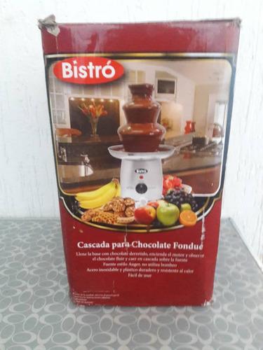 fuente de chocolate bistro