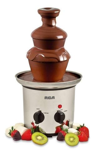fuente de chocolate chamoy de acero inoxidable rca