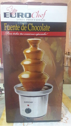 fuente de chocolate eurochef nueva