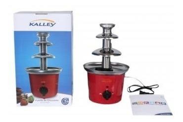 fuente de chocolate kalley torre acero inoxidable