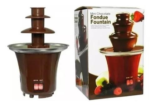 fuente de chocolate míni de 3 niveles+ envio gratis