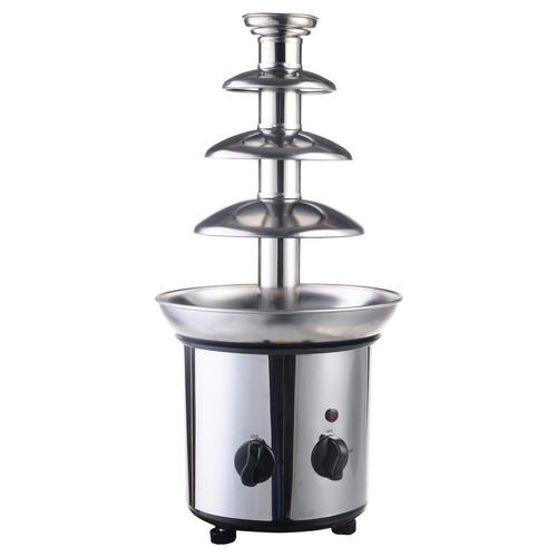fuente de chocolate para fondue uso comercial de 4 niveles