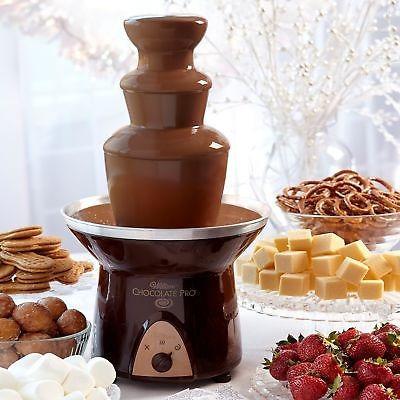 fuente de chocolate wilton chocolate pro 3-tier, 2104-9008