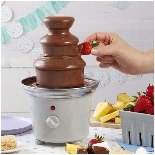 fuente de chocolate wilton de 7 piezas fuente pequeña