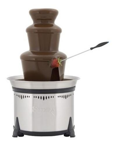 fuente de fondue eléctrica de sephra home, fuente de chocola