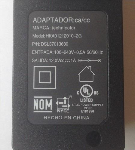 fuente de poder 12 v 1 a para el arduino
