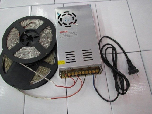 fuente de poder 12v 30a 360w cintas led cámaras