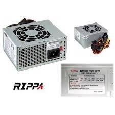 fuente de poder 600w rippa nueva en caja entrega en caracas