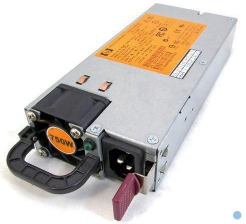 fuente de poder 750w servidores hp proliant s/n: 511778-001