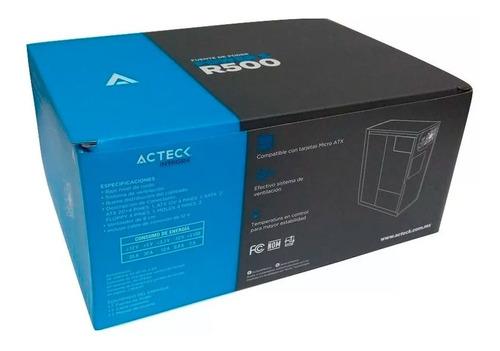 fuente de poder acteck de 500w atx estandar mod. r500